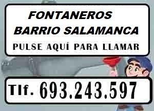 Fontaneros Barrio de Salamanca Madrid Urgentes